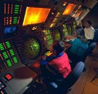 Γήινο κέντρο ελέγχου προηγμένων αεροσκαφών.