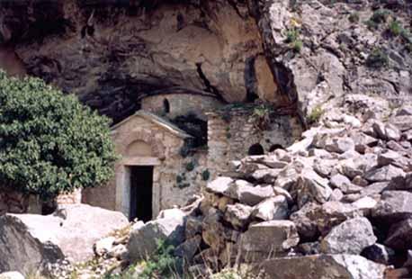 H σπηλιά του Νταβέλη